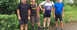 Laufen, Walken & Radfahren - rege Beteiligung für den guten Zweck